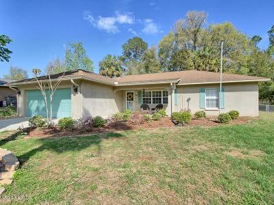 Belleview Single Family Home For Sale: 5395 SE 127th Place