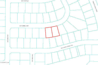 Marion Oaks North, Marion Oaks Rnc, Marion Oaks South Residential Lots & Land For Sale: SW 132 Loop