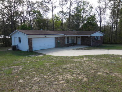 Williston FL Single Family Home For Sale: $125,000