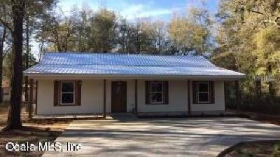 Williston FL Single Family Home For Sale: $165,000