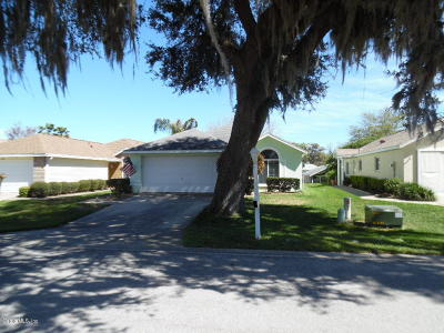 Ocala Palms Single Family Home For Sale: 1909 NW 50th Circle