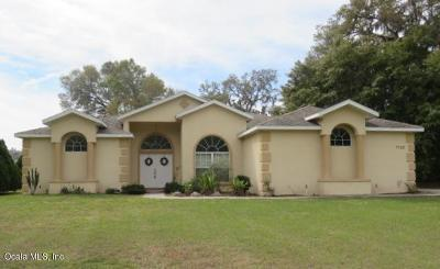 Single Family Home For Sale: 7510 SW 100th Street