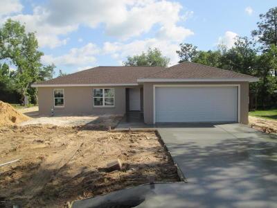 Ocala Single Family Home For Sale: 17 Fir Drive Trail
