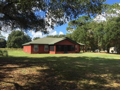 Ocala Single Family Home For Sale: 6611 SW 80th Avenue