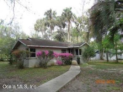 Ocala Single Family Home For Sale: 3930 SW 7th Avenue Road