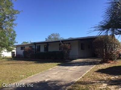 Ocala Single Family Home For Sale: 9030 SW 101st Lane