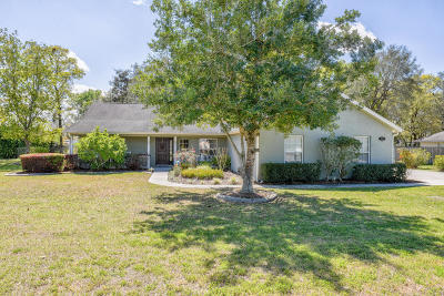 Ocala Single Family Home For Sale: 6618 SE 9th Place