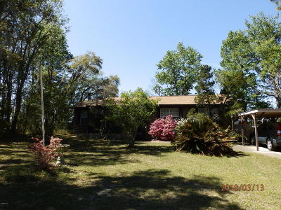 Dunnellon Single Family Home For Sale: 3337 SW Shorewood