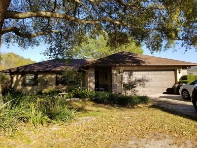 Ocala Single Family Home For Sale: 10001 SW 73rd Terrace