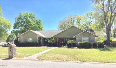 Ocala Single Family Home For Sale: 4718 SE 14 Street