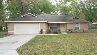 Ocala Single Family Home For Sale: 6071 NW 56th Terrace