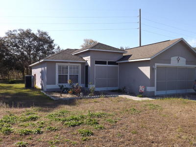 Ocala Single Family Home For Sale: 14906 SW 46th Circle