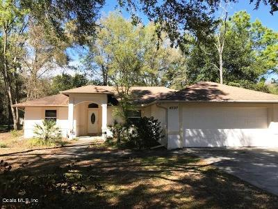 Summerfield Single Family Home For Sale: 4597 SE 137th Place