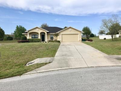 Ocala Single Family Home For Sale: 4051 NE 15th Court
