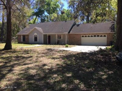 Ocala Single Family Home For Sale: 4400 SW 32nd Place