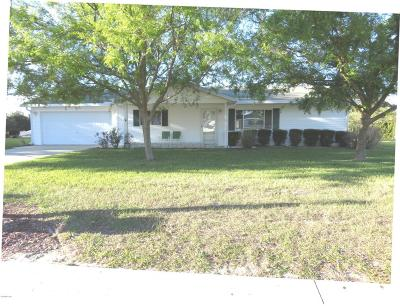 Spruce Creek So Single Family Home For Sale: 17535 SE 106th Terrace