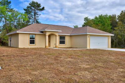 Ocala Single Family Home For Sale: 16205 SW 24th Terrace