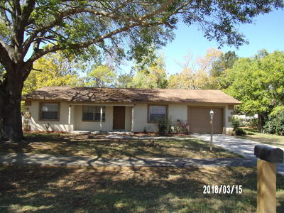 Ocala Single Family Home For Sale: 14870 SW 43rd Terrace Road
