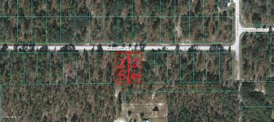 Dunnellon FL Residential Lots & Land For Sale: $3,500