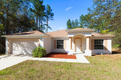 Ocala Single Family Home For Sale: 6945 SW 132nd Place