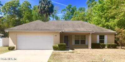 Silver Springs Single Family Home For Sale: 926 NE 130th Terrace