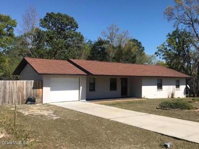 Ocala Single Family Home For Sale: 805 Bahia Circle