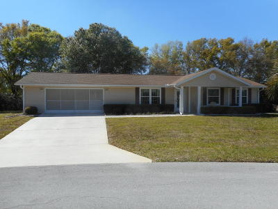 Ocala Single Family Home For Sale: 11528 SW 89th Terrace