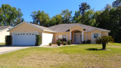 Marion County Single Family Home For Sale: 7636 SW 103rd Loop