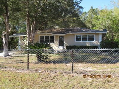 Dunnellon Single Family Home For Sale: 19991 SW Rainbow Lakes Boulevard