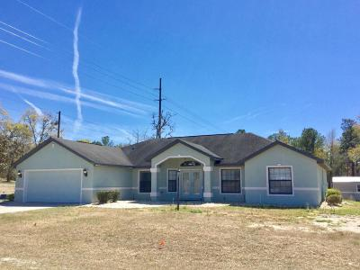 Ocala Single Family Home For Sale: 4920 SW 116th Place