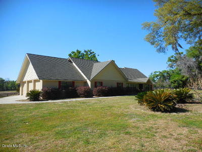Ocala Single Family Home For Sale: 9480 SW 19th Avenue Road