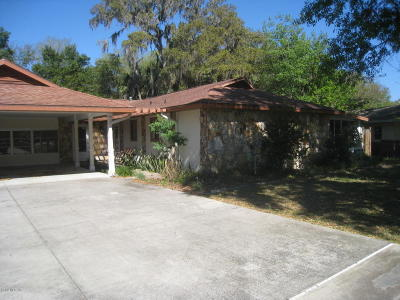 Ocala Single Family Home For Sale: 12 Spring Lake Way