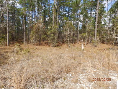 Dunnellon FL Residential Lots & Land For Sale: $6,900