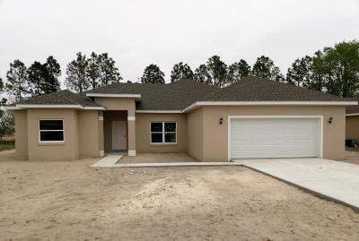 Belleview FL Single Family Home For Sale: $229,500