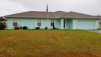 Belleview FL Single Family Home For Sale: $145,000