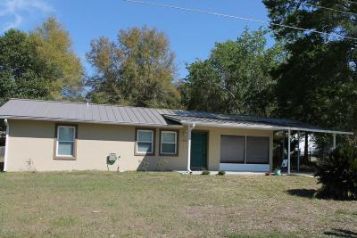 Belleview Single Family Home For Sale: 10831 SE 55th Court