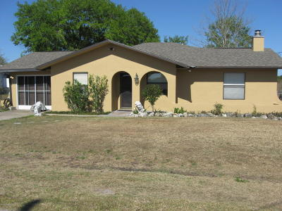 Ocala FL Single Family Home For Sale: $164,900