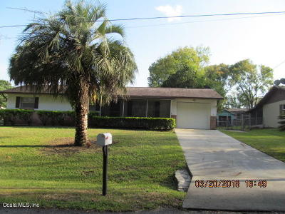 Belleview Single Family Home For Sale: 5740 SE 119th Street
