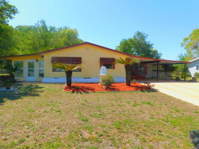 Ocala Single Family Home For Sale: 9320 SW 102nd Place