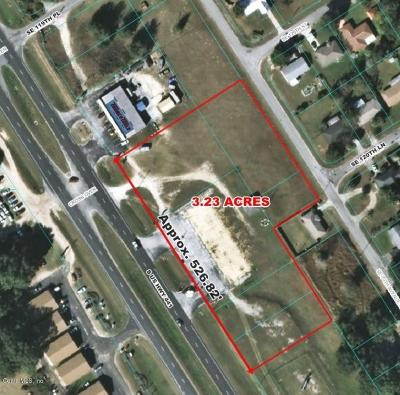 Belleview Residential Lots & Land For Sale: 12101 SE Us Highway 441