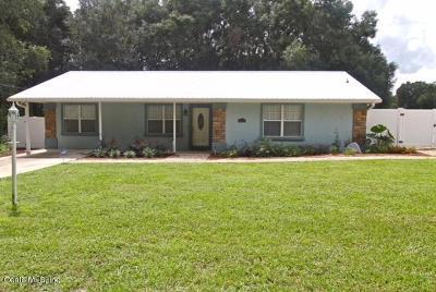Summerfield Single Family Home For Sale: 3420 SE 135th Lane