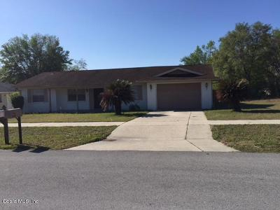 Ocala Single Family Home For Sale: 14859 SW 35th Circle