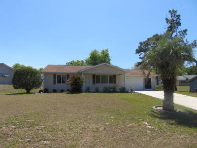 Single Family Home For Sale: 8468 SW 109th Place
