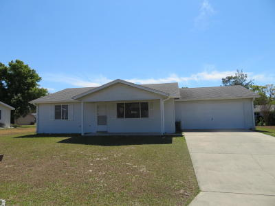 Marion County Rental For Rent: 8522 SW 108th Lane
