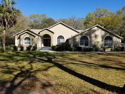 Marion County Single Family Home For Sale: 3501 SW 49th Terrace