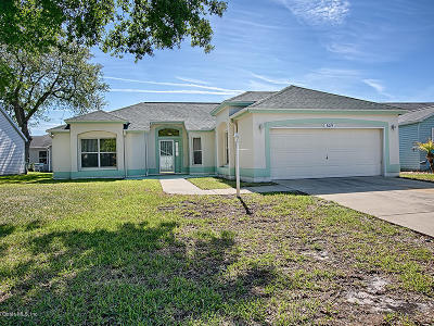 The Villages Single Family Home For Sale: 609 San Pedro Drive
