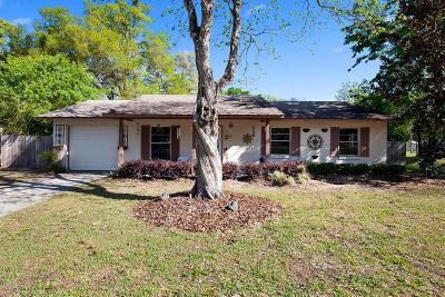 Ocala FL Single Family Home For Sale: $138,000