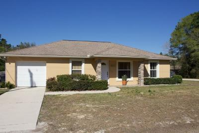 Ocala Single Family Home For Sale: 2720 SW 140th Court
