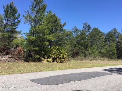 Ocala FL Residential Lots & Land For Sale: $26,000