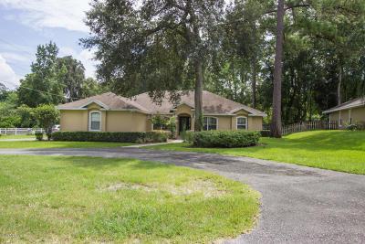 Ocala FL Single Family Home For Sale: $224,900